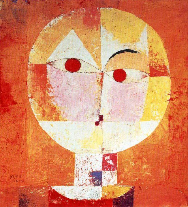 Senecio - Una delle oppere di Paul Klee più importanti e famose